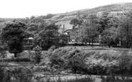 Delph, Stoneswood from Gatehead Road c1955