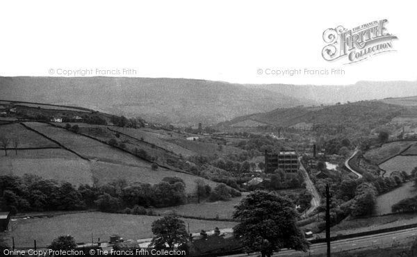 Delph, Tamewater from Stoneswood Road c1955