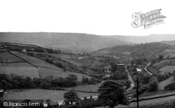 Tamewater From Stoneswood Road c.1955, Delph