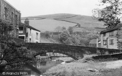 The Bridge c.1955, Delph