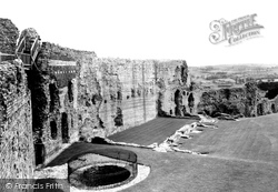 Denbigh, Castle c.1955