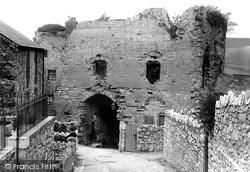 Denbigh, Castle Gateway 1891