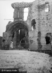 Denbigh, Castle, The Gatehouse 1952