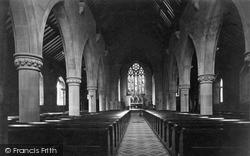 Denbigh, Church Interior c.1875