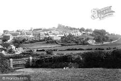 Denbigh, From The North 1888