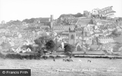 Denbigh, General View c.1950