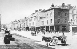 Denbigh, High Street c.1890