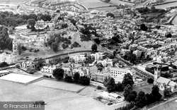 Denbigh, Howells School And The Town c.1955