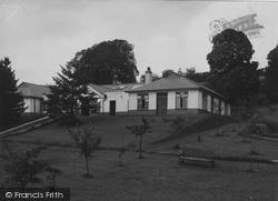 Denbigh, Light Department And Recreation Room, North Wales Sanatorium c.1935