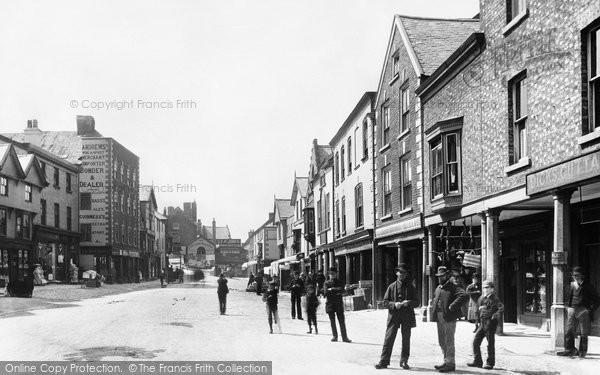 Denbigh, Market Place 1888