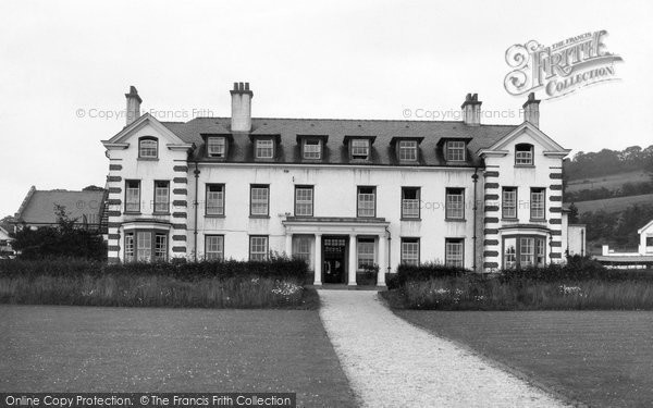 Photo of Denbigh, North Wales Sanatorium c1935, ref. d22085