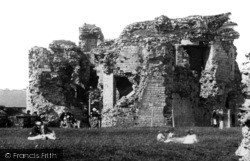 Denbigh, The Castle 1888