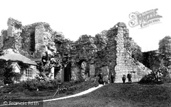 Denbigh, The Castle, The Keep 1888