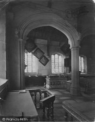 Denbigh, Whitchurch Interior c.1875