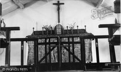 Denby Dale, Roman Catholic Church Interior c.1955