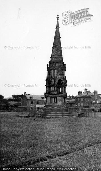 Photo of Denholm, John Leydon Memorial c.1955