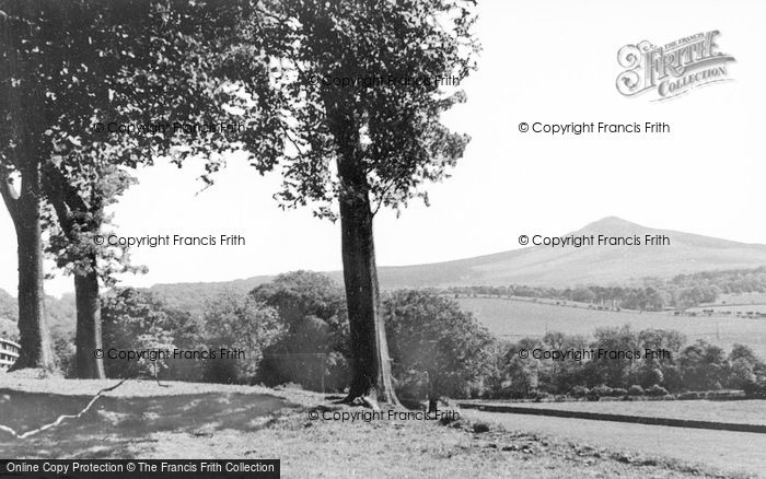 Photo of Denholm, View Off Rubers Law c.1935