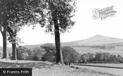 Denholm, View Off Rubers Law c.1935