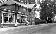 Denmead, Post Office c1960