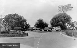 Denmead, The Green c.1965