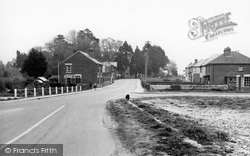 Denmead, The Village c.1955
