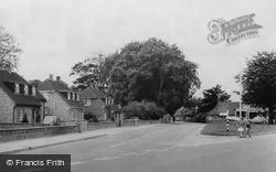 Denmead, The Village c.1960