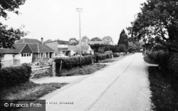 Denmead, Uplands Road c.1960