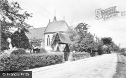Denstone, All Saints Church c.1955