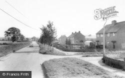Denstone, Hawthorn Close c.1965