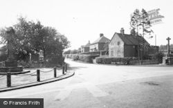 Denstone, Heywood And War Memorial c.1965