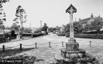 Denstone, Heywood and War Memorial c1965