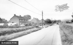 Denstone, Main Road c.1965