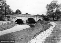 Denstone, The Bridge c.1955