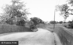 Denstone, The Bridge c.1965