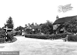 Denstone, The Village c.1955