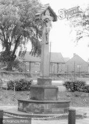 Denstone, The War Memorial c.1965