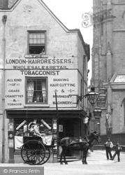 A Shop Near St Alkmund's Church 1896, Derby