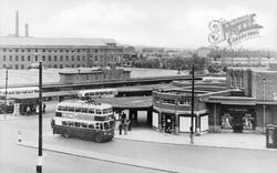 Bus Station c.1955, Derby