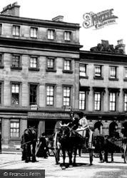 Carriage In Cornmarket 1896, Derby