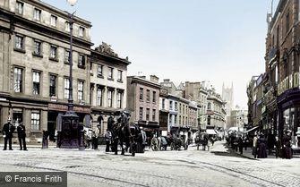 Derby, Cornmarket 1896