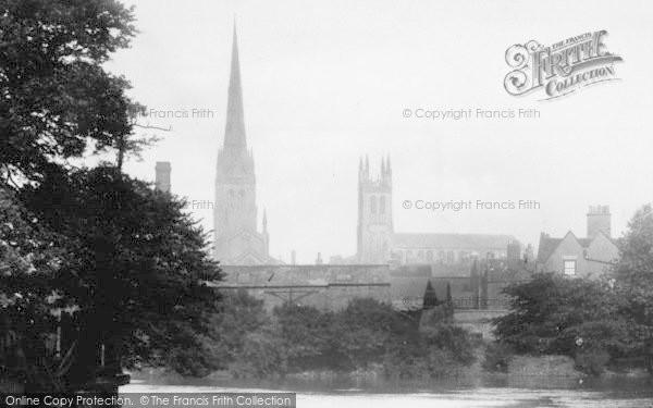 Photo of Derby, From The Derwent 1896