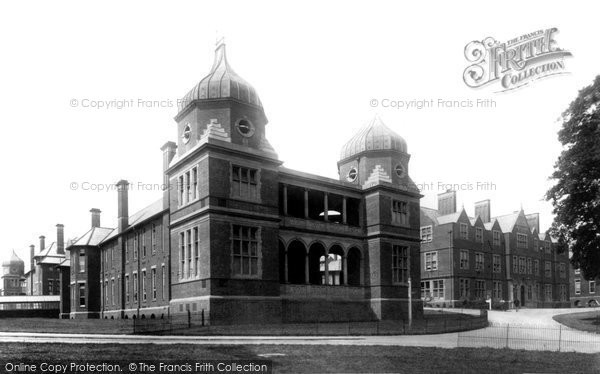 Photo of Derby, Infirmary 1896