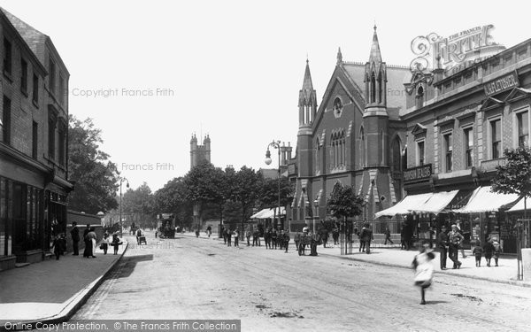 Photo of Derby, London Road 1896
