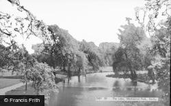 Markeaton Park, Lake c.1960, Derby