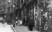 Derby, Shops in Iron Gate 1896