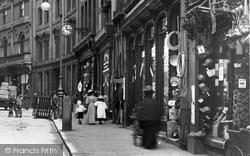 Shops In Iron Gate 1896, Derby