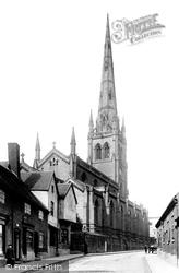 St Alkmund's Church 1896, Derby