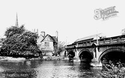 St Mary's Bridge c.1960, Derby
