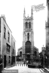 St Mary's R.C Church 1896, Derby