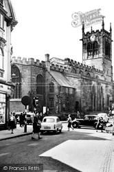 St Peter's Church c.1960, Derby